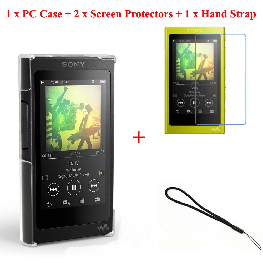 Sony Walkman With High Resolution Audio Nw A36 Red Daftar Harga Black Running Camel Clear Crystal Transparent Hard Case For A35 A37 Screen Protector