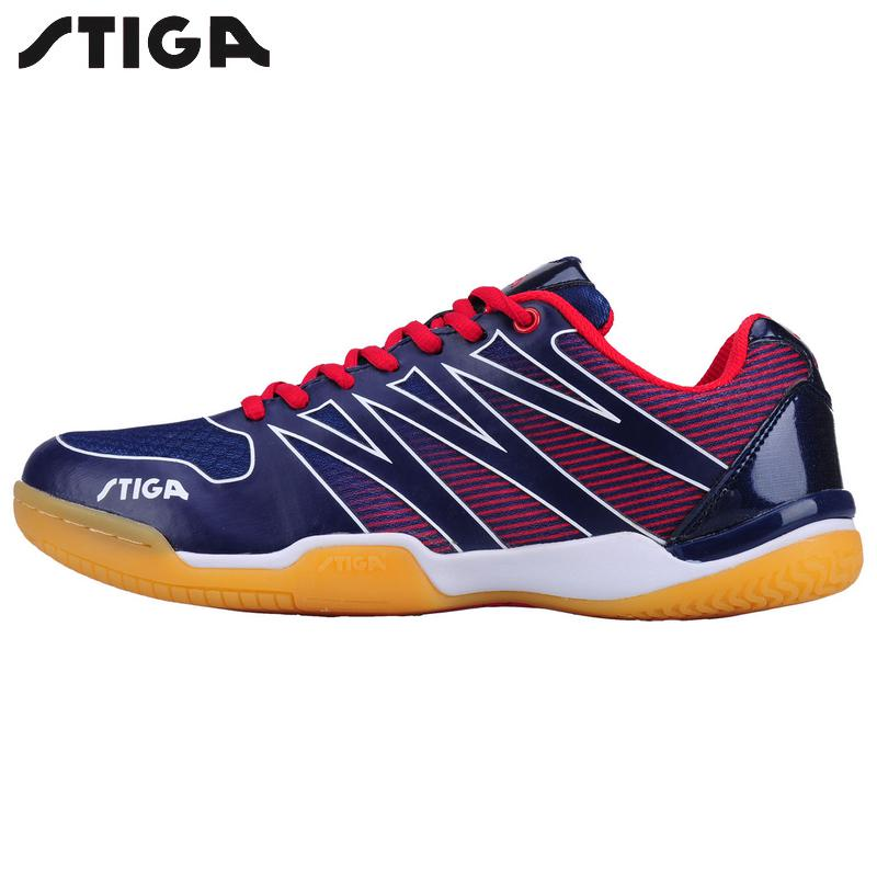 New arrival Stiga Table Tennis Shoes Zapatillas Deportivas Mujer Mens women ping pong racket shoe sport