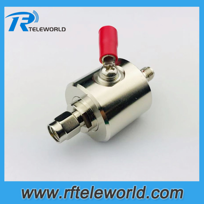 Free Shipping 6GHz 50ohm SMA Male To Female Lightning Surge Protector/Surge Arrester