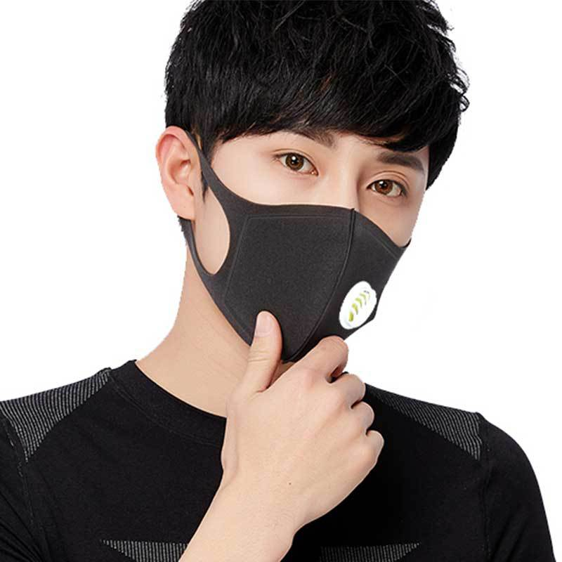 New Anti Pollution Mask Dust Respirator Washable Reusable Masks Cotton Unisex Mouth Muffle For Allergy/Asthma/Travel/ Cycling