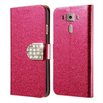 For Asus Zenfone 3 ZE520KL Case Wallet PU Leather Phone Case For Asus Zenfone 3 ZE520KL Z017D ZE ZE520 520 520KL KL Flip Cover image