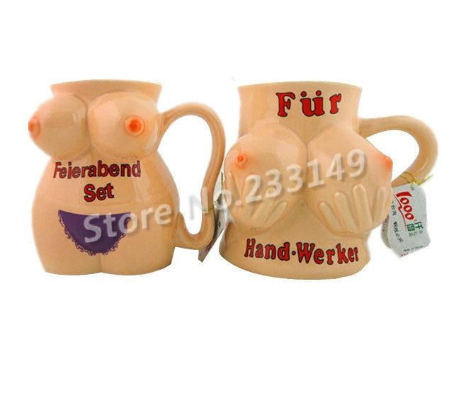 2pcs Set Couple Cups Coffee Mugs Creative Funny Novelty