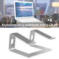 Aluminum Alloy Laptop Cooling Holder Desktop Ergonomics Heighten Notebook Support for MacBook Air Pro Stand DOM668