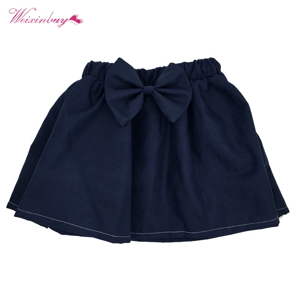 Girls Skirt Baby Kids Girls Mini Bubble Tutu Skirts Pleated Dance Princess Skirts For Children Clothes