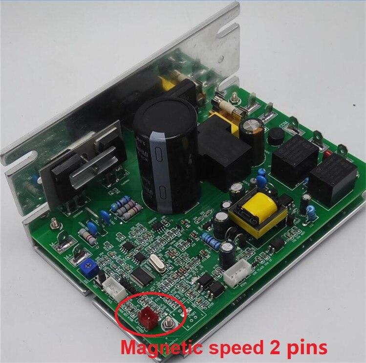 Libérez Le Bateau ZYXK6 Magnétique vitesse Lumière vitesse SHUA BC-1002 tapis roulant circuit pilote de la carte mère contrôle PCB-ZYXK6-1012-V1.3