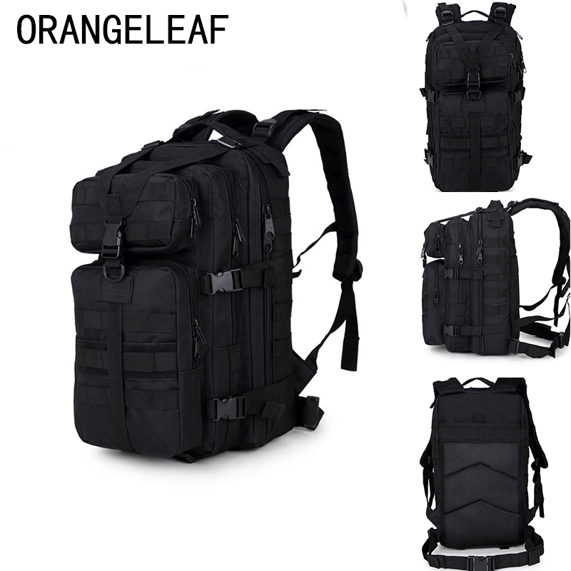35L Nylon Military Army Black Backpack Men Waterproof 10L Mini Backpack Bagpack Big Capacity Luggage Mochila Laptop High Quality 2018 casual military army camouflage backpack unisex waterproof nylon laptop backpack for men male multi function school bagpack