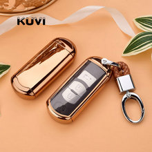 Hight quality Car Remote Key Case Cover For Mazda 2 3 6 Axela Atenza CX-5 CX5 CX-7 CX-9 2015 2016 2017 Smart 2/3 Buttons стоимость