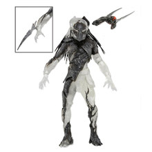 Predadores NECA Falcoeiro Falconer Predator PVC Action Figure Collectible Modelo Toy com Cintura Removível Lâmina(China)