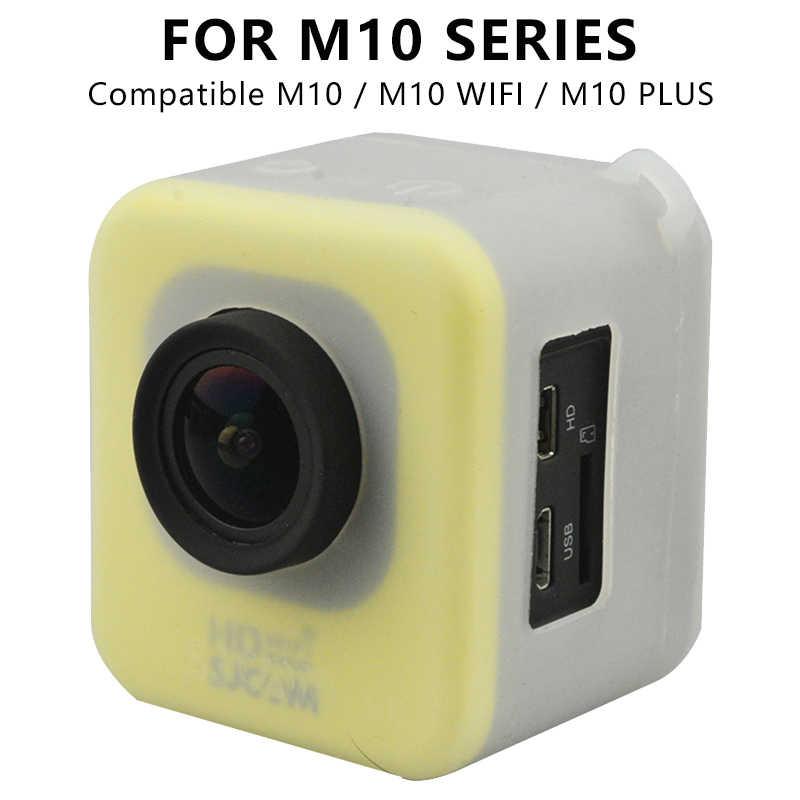 Оригинальный SJCAM силиконовые аксессуары Защитный чехол для SJ4000/M10/SJ5000 серии Спорт действий Камера