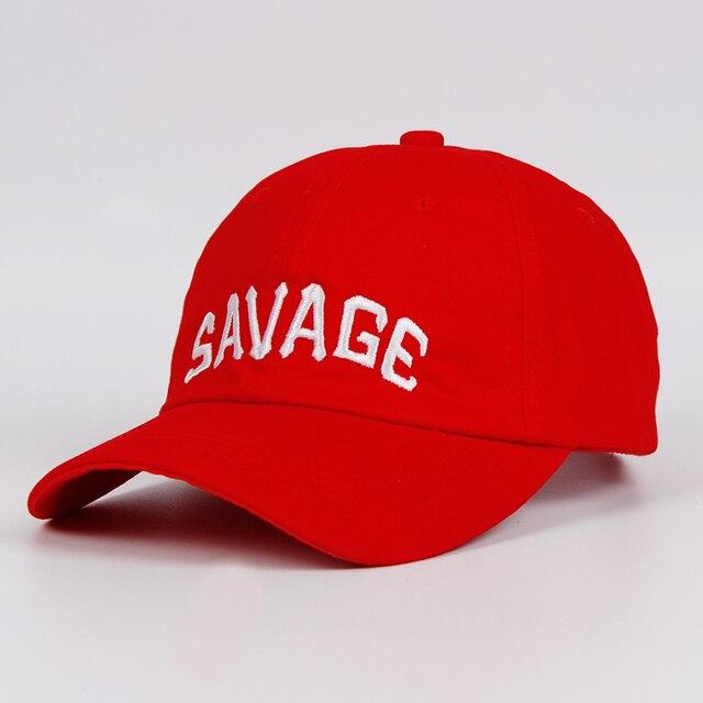 2017 Terbaru Savage Topi Ayah Topi Snapback Topi Merek Bisbol Cap Pria  Wanita Katun Street Tulang 757cdb43d4