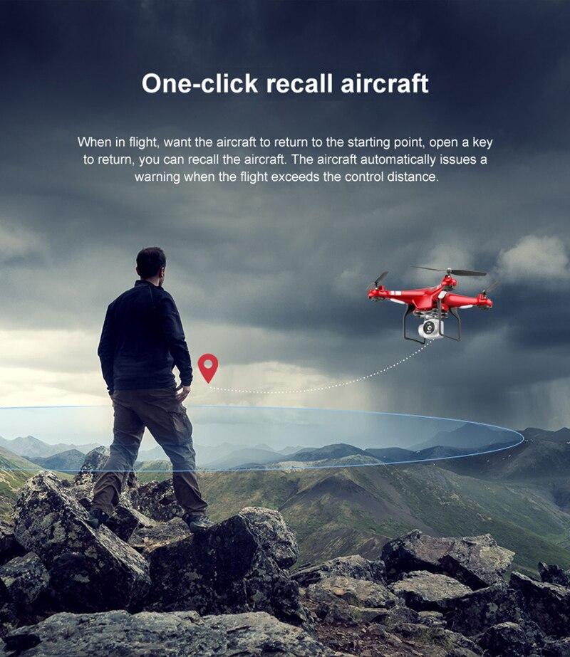New X52 Drone HD 1080P Wifi transmission fpv quadcopter camera drone