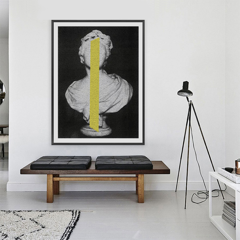 Classic Sculpture Posters and Prints Wall Art Abstract Canvas Painting Pictures For Living Room Home Decoration