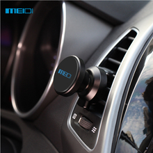 New MEIDI  Magnetic Mobile Phone Holder for iPhone 6S 7 Car Air Vent Mount  stand Metal Smartphone car holder
