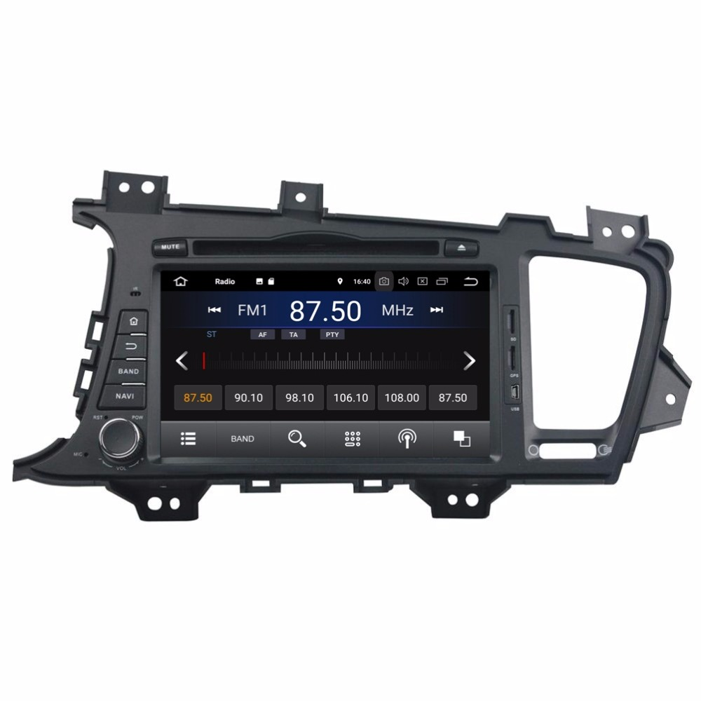Android 8 1 Quad Core 8 Car radio dvd font b GPS b font Multimedia Player