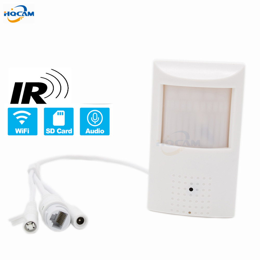 HQCAM WIFI TF Slot 720P 960P 1080P PIR Style Indoor Onvif Wired And Wireless IP Camera Invisible 48pcs 940nm IR LED Built-In MICHQCAM WIFI TF Slot 720P 960P 1080P PIR Style Indoor Onvif Wired And Wireless IP Camera Invisible 48pcs 940nm IR LED Built-In MIC