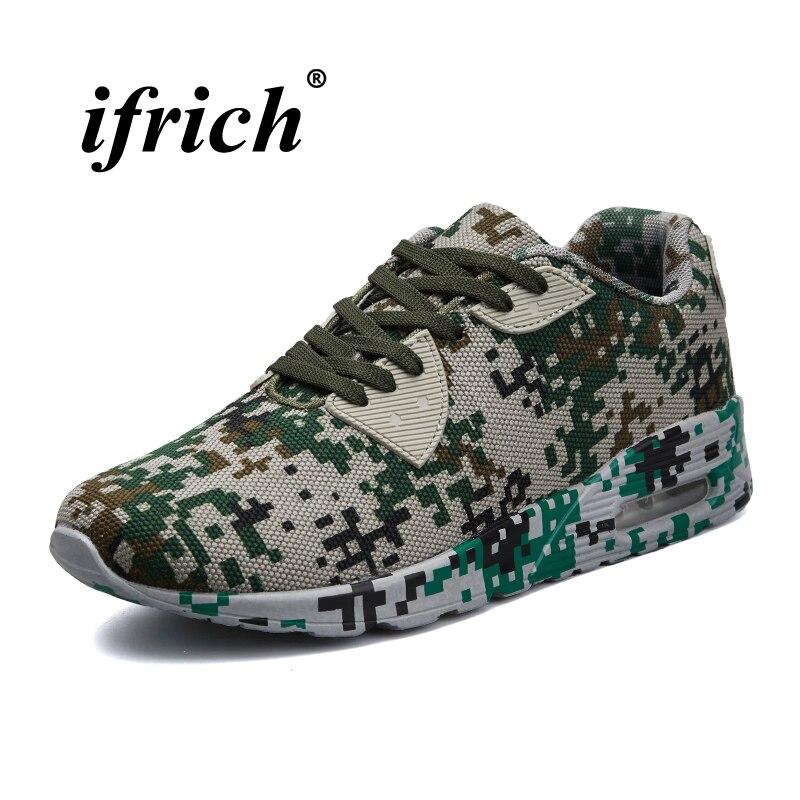 Man Running Shoes Large Size 39-46 Men Sneakers Air White Khaki Brand Sport Footwear Anti-slip Lace Up Men Jogging Shoes