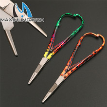 Maximumcatch Mitten Scissor Clamps Fly Fishing Tools Forceps