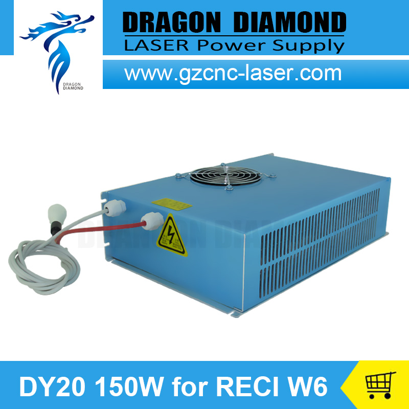 DY20 Co2 font b Laser b font Power Supply 150W power supply for reci tube W6
