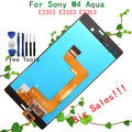 Big Sales Black or White Full LCD Display+Digitizer Touch Screen Glass Assembly For Sony Xperia M4 Aqua E2303 E2306 E2312 E2333