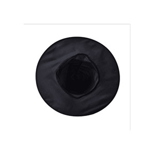 Image 3 - 1PCHalloween מכשפה כובע כובעי קישוט מסיבת תחפושות למבוגרים נשים שחור מכשפה כובע עבור ליל כל הקדושים תלבושות אבזר כובעים
