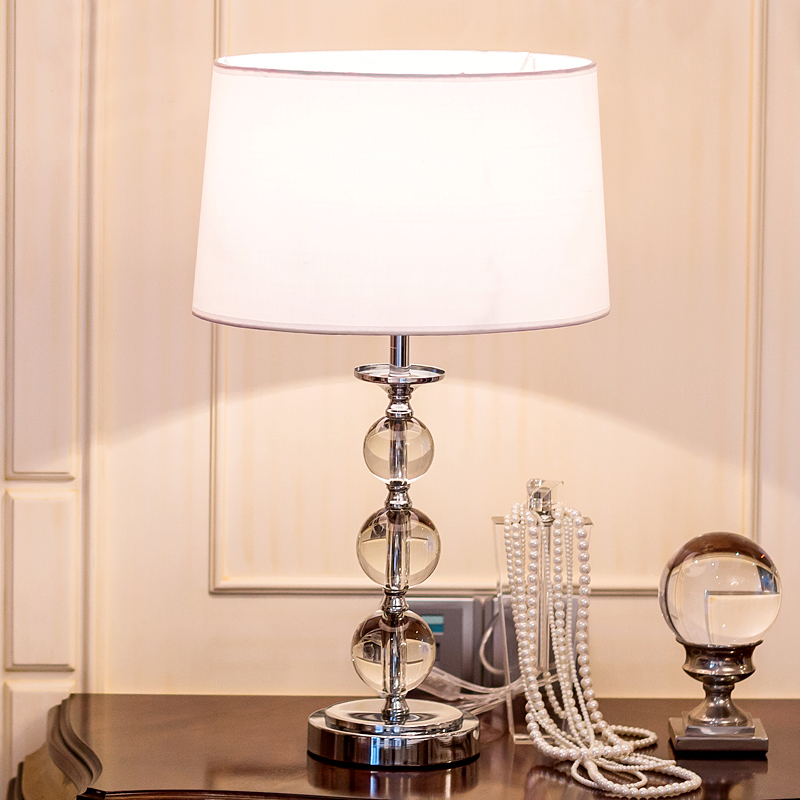 Table lamp luxurious bedside lamps for bedroom living room - Lamparas para dormitorios ...
