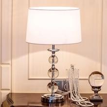 Lámpara de mesa de noche de Lujo lámparas para el dormitorio Sala de estar Decoración del Dormitorio de La Luz luces lámparas de mesa Decorativas