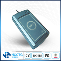 New ACR122S NFC Contactless Smart Card Reader Writer with 2pcs Cards RS232 RFID 13.56MHZ for Access Control