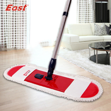 Sale East Cleaning tools floor telescopic rotation mop with pole cotton cloth towel for home floor kitchen living room cleaning