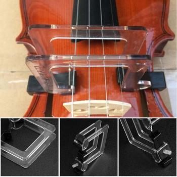 Crystal 4 4 skrzypce Bow prostowanie kolimator Corrector Tool Guide dla początkujących trening akcesoria do instrumentów muzycznych tanie i dobre opinie CN (pochodzenie) Do skrzypiec Violin Bow Straighten Corrector