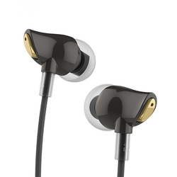 100% Original Rock Earphone Nano Zircon Stereo Earphone Headset 3.5mm In Ear Headset Earbuds For IPhone Samsung <font><b>With</b></font> <font><b>Mic</b></font>&Remote