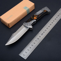 High Quality EDC Folding Blade Knives Art Collection Stainless Steel 3D Flower Outdoor tools 2017 Survival knifes