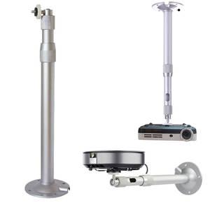 Wall-Mount Projector Aluminium-Bracket Universal 20-40cm 15kg-Capacity 360-Degree Adjustable