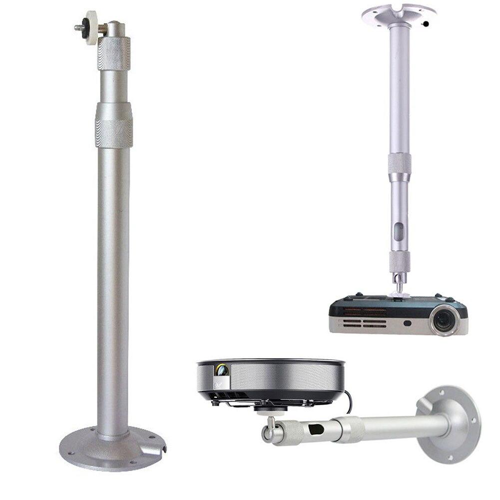 Universal 20-40cm Projector Ceiling Wall Mount Aluminium Bracket 15KG Capacity 8899
