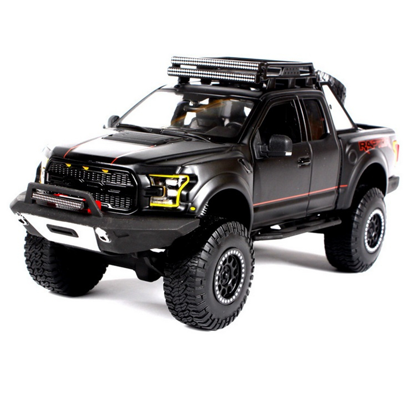 1/24 Simulation Exquisite Diecasts&Toy Vehicles KiNSMART Car Styling Ford F150 Raptor Pickup Trucks 1:24 Alloy Diecast SUV Model bburago 360 challengr 1 24 alloy car model toys diecasts