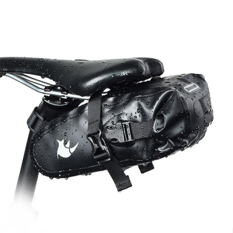 Waterproof Mountain Bike Bag Bicycle Saddle Bag Cycling Seat Bag MTB Road Bicycle Phone Holder Repair Tools Bag Bicycle Accessor