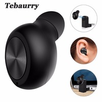 New Invisible Bluetooth Earphone Mini Wireless In Ear Earpiece Bluetooth Headset Wireless With Microphone 6 Hours