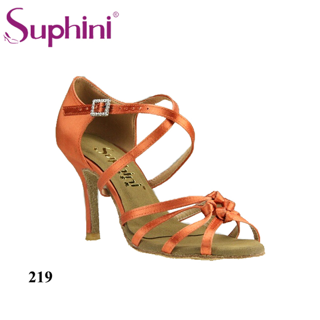 Free Shipping Suphini Soft Latin Salsa Shoes Woman Comfortable Dance Shoes  Latin Dance Shoes 3b9e5ef22085
