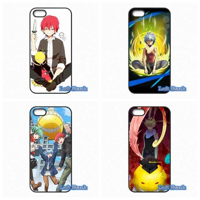 US $4 99  Assassination Classroom Phone Cases Cover For Apple iPhone 4 4S 5  5S 5C SE 6 6S 7 Plus 4 7 5 5 iPod Touch 4 5 6-in Half-wrapped Case from