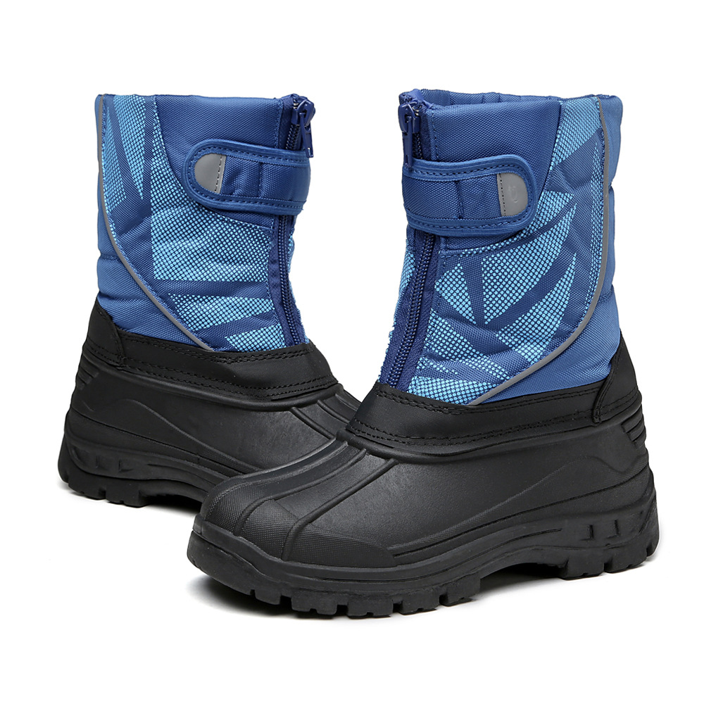 Children Rubber Rain Boots Casual Anti-skid Outdoor Snow Boot Fashion Platform Botas Size 24-31 Boys Girls Warm Winter SnowshoesChildren Rubber Rain Boots Casual Anti-skid Outdoor Snow Boot Fashion Platform Botas Size 24-31 Boys Girls Warm Winter Snowshoes