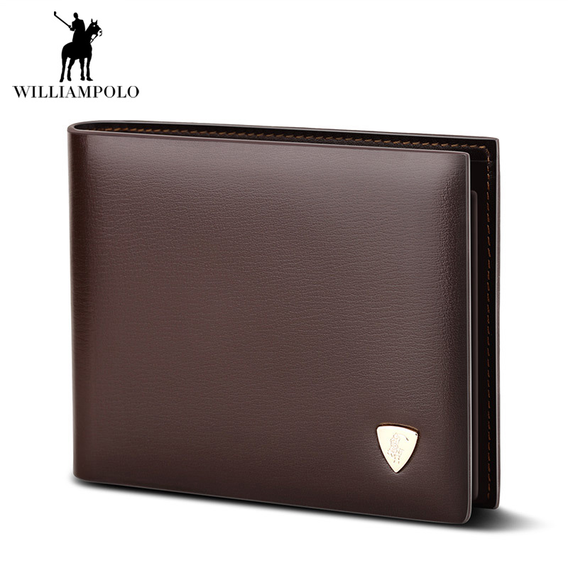 2017 Fashion Slim Men Wallet 100% Genuine Cow Leather Men Purses High Quality Mens Brown Coin Pocket Clutch Bag For Mens Gift 2017 luxury brand men clutch cowhide wallet genuine leather hand bag classic multifunction mens high capacity clutch bags purses