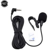 Профессиональный автомобильный аудиомикрофон 3 м, штекер 3,5 мм, стерео микрофон, мини проводной внешний микрофон для автомобиля, DVD-радио