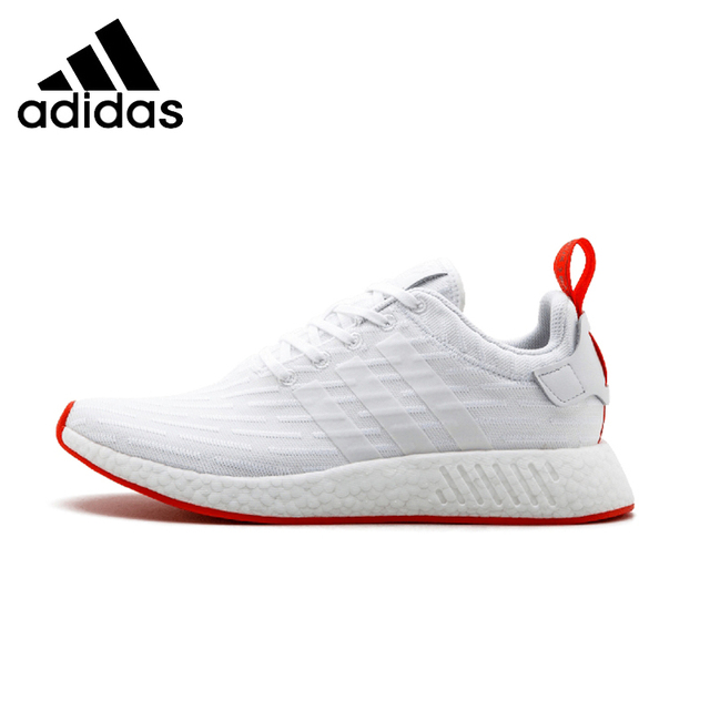 sports shoes 13461 941be US $106.5 29% OFF|ADIDAS NMD_R2 PK Mens Running Shoes Stability Support  Sports Comfortable High Quality Sneakers For Men Shoes-in Running Shoes  from ...