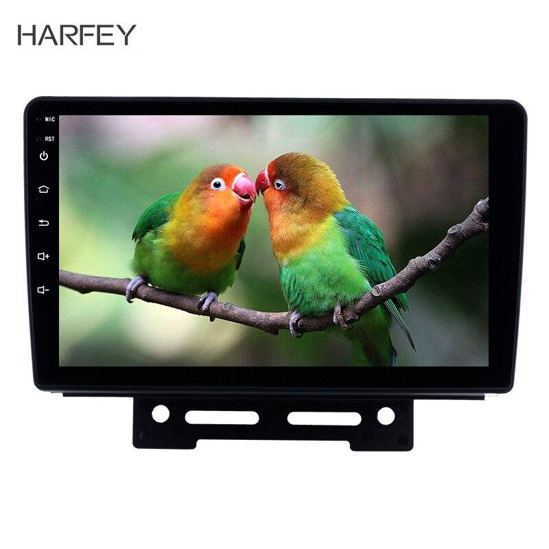 Harfey GPS Navigation voiture stéréo pour 2012 2013 2014 Geely Emgrand EC7 Android 8.1 3G WiFi AM FM Radio prise en charge AUX USB 1080 P DVR
