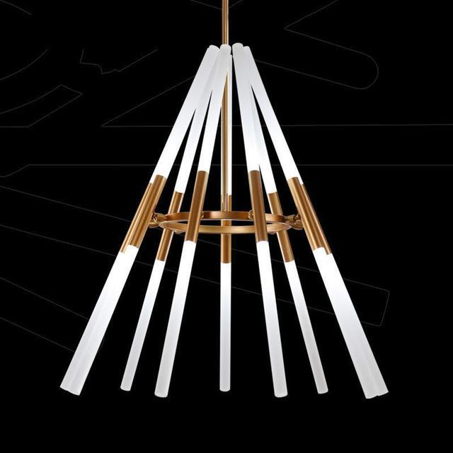 Transformable led pendant lamps Pipe Erected 110-240v Led laser pendent lights Modern Dining Room Lamparas Deformable  Lampe