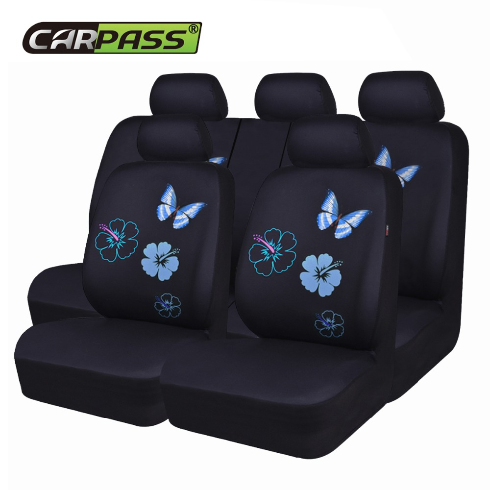 Gray Cars Airbag Compatible,fit for suvs CAR PASS Universal fit Corduroy Two Front seat Covers Sedans