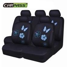 Housses universelles de siège de voiture, couvre-siège papillon pour voitures, accessoires d'intérieur de voiture Suv