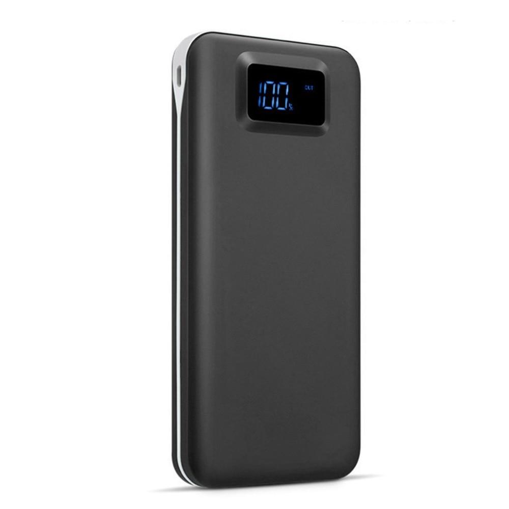 Wopow 20000 mAh Puissance Banque Pour iPhone X 8 7 Samsung S9 S8 Plus Double USB Rapide Chargeur Powerbank 20000 mah Téléphone Batterie chargeur
