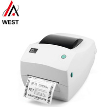 Оригинальный и новый zebra GK888T принтер штрих кода Экспресс почта логистика Склад Адрес печати Бесплатная доставка