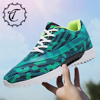CatriCa Hot Sale Summer Trainers Shoes Men High Quality Fashion Luxury 2019 Designer Male Sneakers Black White Blue Green Q10