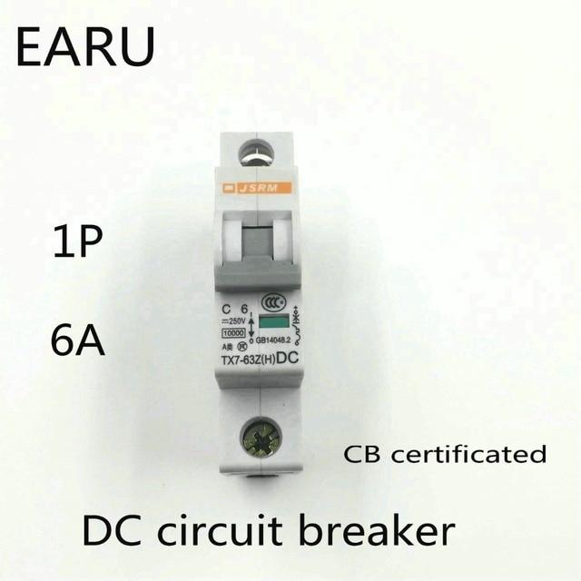 1p 6a dc 250v dc circuit breaker mcb for pv solar energy rh aliexpress com Simple Wiring Diagrams Simple Wiring Diagrams
